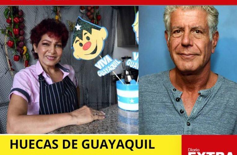 Antony Bourdain comió encebollado en Guayaquil