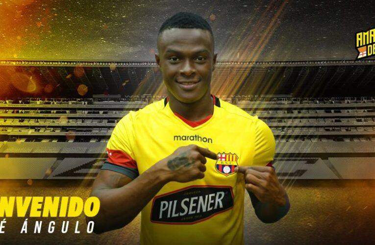 Barcelona SC anuncia el fichaje de José 'Tin' Angulo