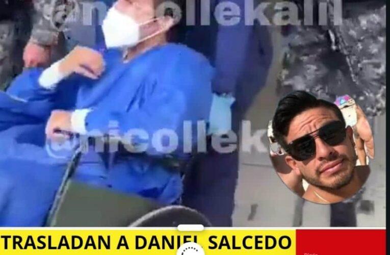 Vivo y coleando va Daniel Salcedo a una prisión en Quito con poca seguridad.
