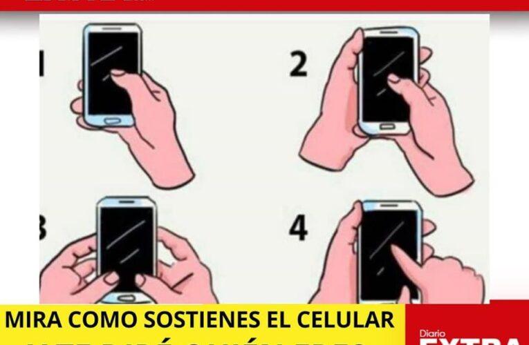 Como nuestras manos sostienen el celular nos define