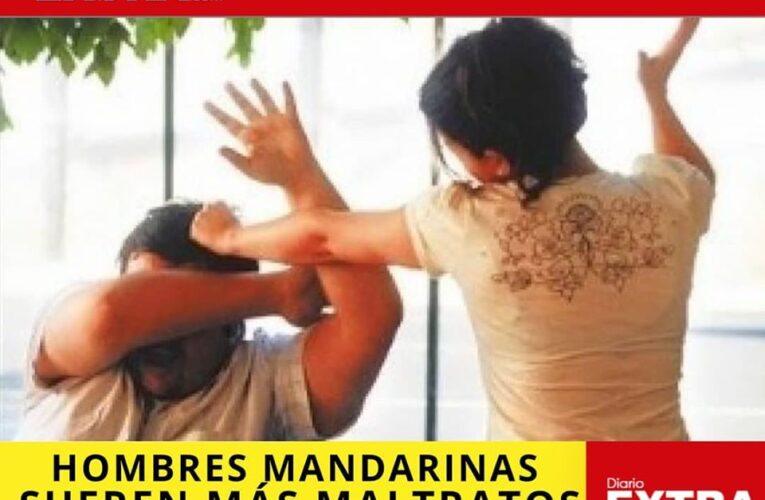 Los hombres mandarinas están sufriendo abuso intrafamiliar