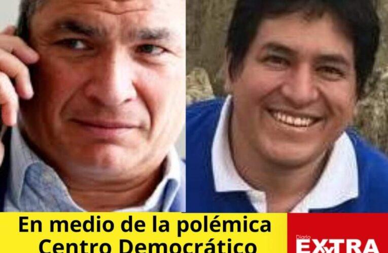 Ahora va el binomio Arauz-Correa, Carlos Rabascal suplente por el Centro Democrático.