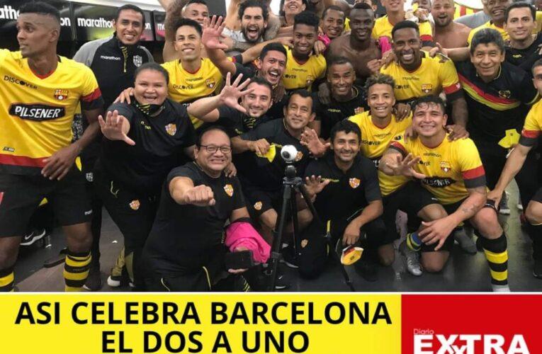 En primer Clásico del Astillero en tiempos de coronavirus gana Barcelona 2-1