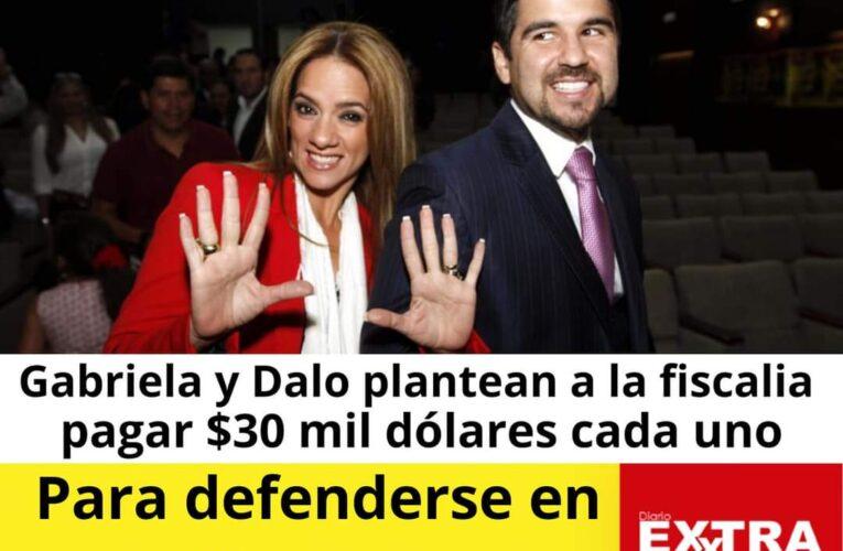 Aunque no tengan para la compu, Dalo y Gaby están dispuestos a pagar $60.000 para no tener medidas cautelares y defenderse.