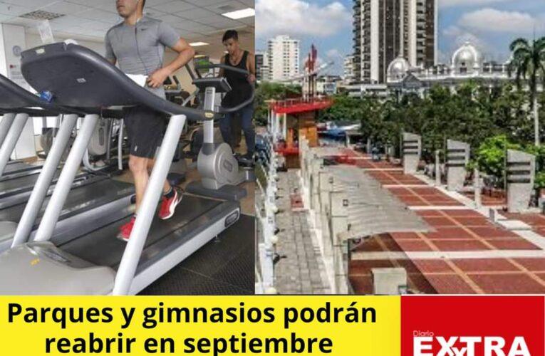 En septiembre no habria excusas para no ir al gimnasio o ejercitarse  en el parque.