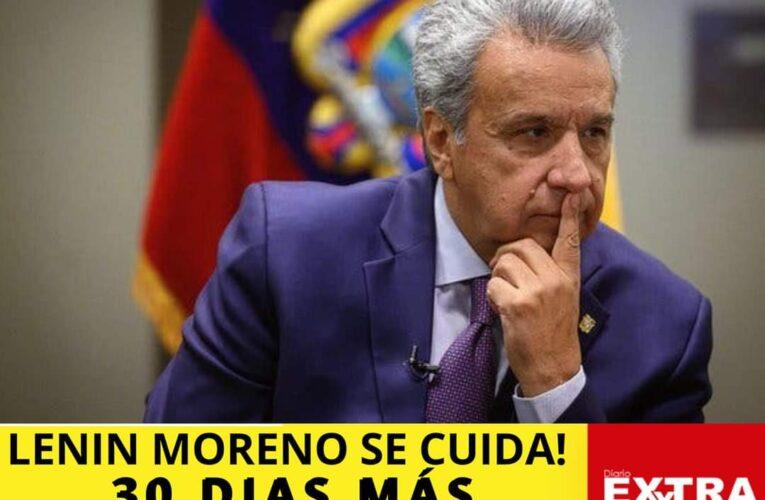 """""""Me cuido y te cuido"""" Con esa frase Lenin Moreno extiende el estado de excepción."""