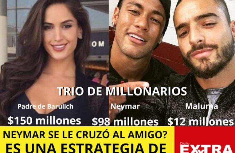 Maluma, Neymar y Natalia Barulich, un triangulo amoroso entre millonarios o una estrategia de marketing?