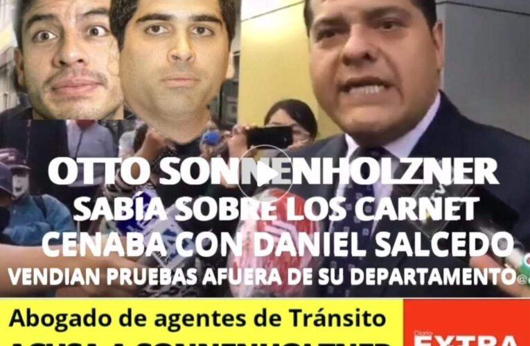 Sin miedo abogado de agentes de Tránsito empuerca a Otto Sonnenholzner y que hay persecución para abogados que defienden casos emblemáticos del país.