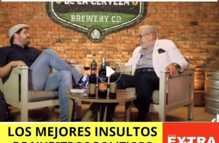 Gustavo Noboa en un insulto memorable a Rafael Correa.