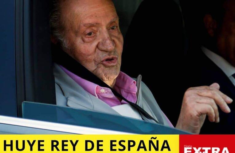 Rey Juan Carlos huye a Portugal y acomoda a misteriosa mujer con transferencias.