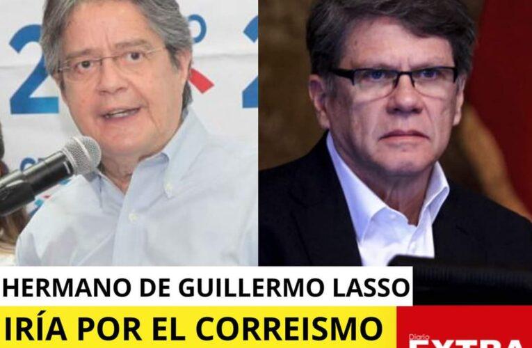 El hermano de Guillermo Lasso y la hermana de Rafael Correa disputan ser candidatos a presidente por el correismo.