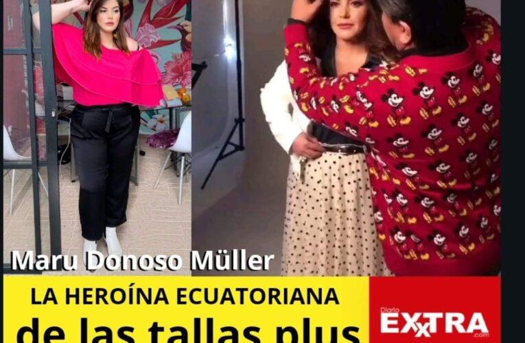 Maru Donoso Müller la heroína de las tallas grandes y su emporio de la moda.