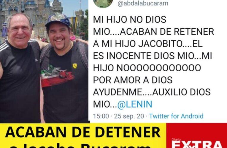 Detienen a Jacobo Bucaram, Abdalá Bucaram llora por su hijo y reclama a Lenin Moreno!