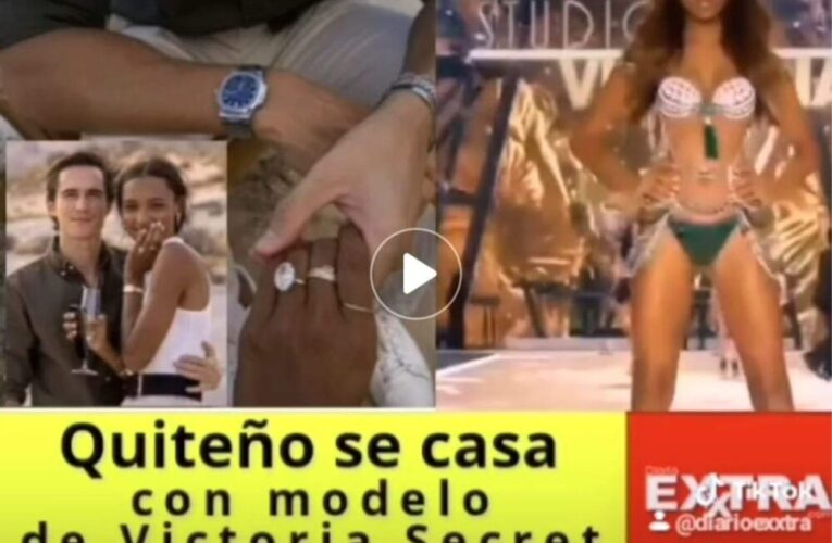 Ecuaroriano se casa con modelo de Victoria Secrets Jasmine Tooker