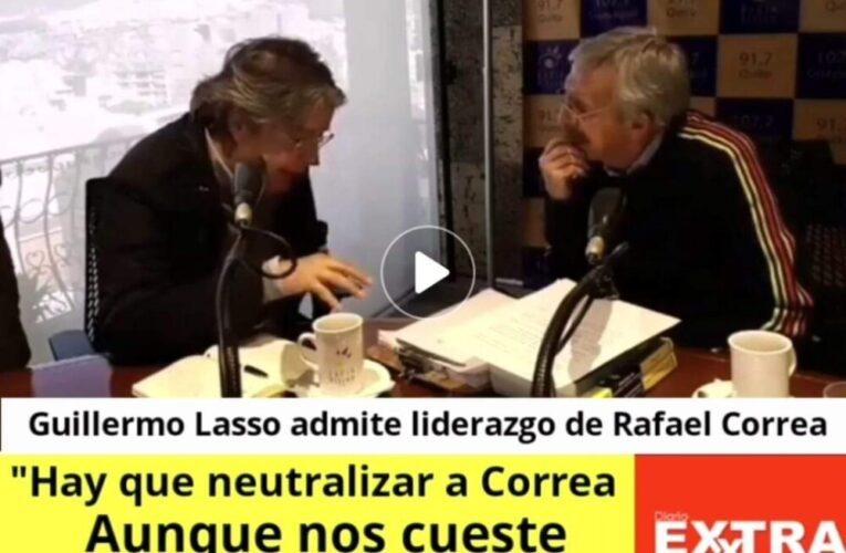 """""""Si Correa está en Ecuador mantiene su capacidad competitiva"""" Guillermo Lasso"""