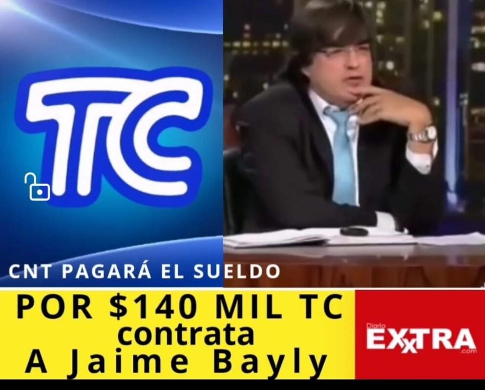 Polemica Por Contratacion Billeteada De Jaime Bayly En Tc Para Las Elecciones 2021 Diario Exxtra Así fue su regreso a la. jaime bayly en tc