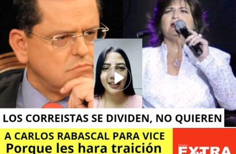 El correismo pide a Ma. Elsa Viteri para vicepresidente porque Carlos Rabascall huele a volteo y Pierina Correa y Aguinaga no tienen carisma