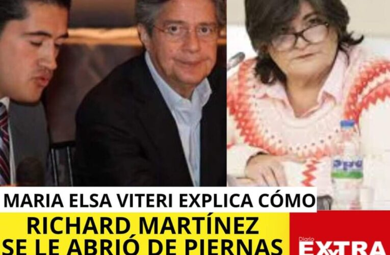 Maria Elsa Viteri ex Ministra de Finanzas explica cómo Richard Martínez se le abrió de piernas a tenrdores de bonos.