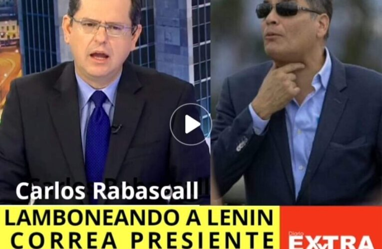 Carlos Rabascall divide al correismo por presentar visos de traición y sumisión a Lenin Moreno