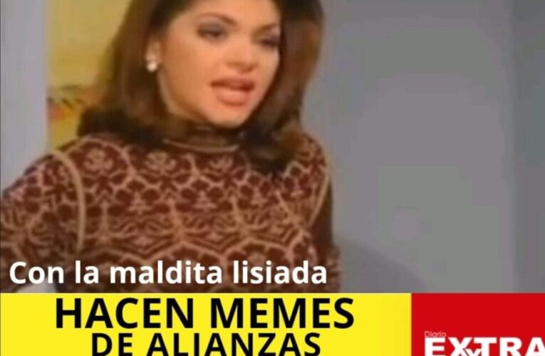 """Hacen memes de """"la maldita lisiada"""" en vísperas de elecciones por alianzas entre el gobierno, Guillermo Lasso y Nebot"""
