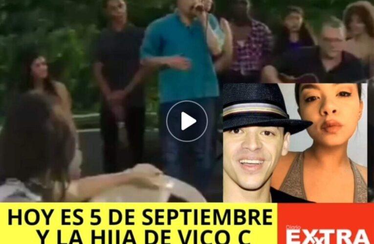 """""""Hoy es cinco de septiembre"""" de Vico C es tendencia cada año pero ahora su hija cumple 30."""