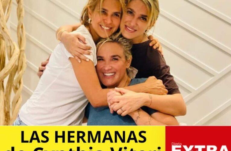 Cynthia Viteri y sus hermanas son muy parecidas