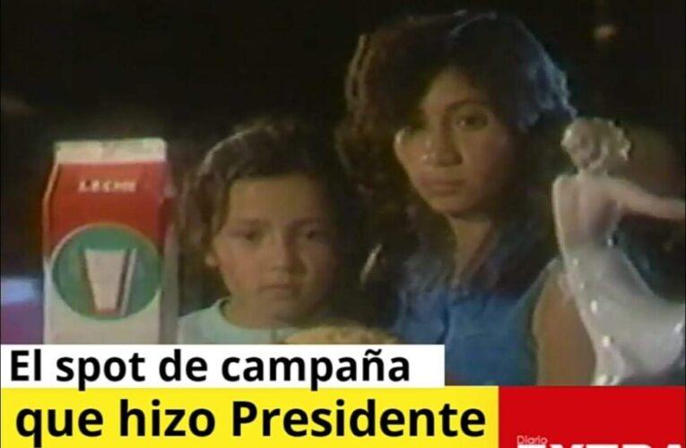 El spot de campaña que puso a Rodrigo Borja como Presidente del País en 1988.