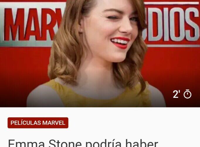 Emma Stone podría ser el gran bombazo de Spider-Man 3