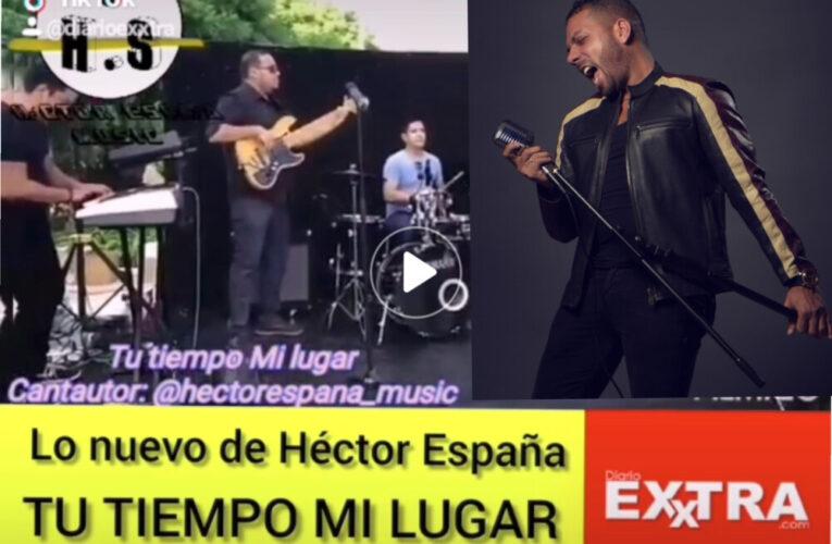 """Héctor España y su nuevo tema """"Tu Tiempo, Mi Lugar"""" de Esmeraldas para el mundo."""