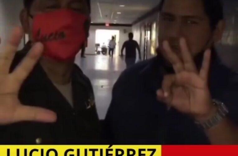 Vulgaridad de Lucio Gutiérrez se hace viral