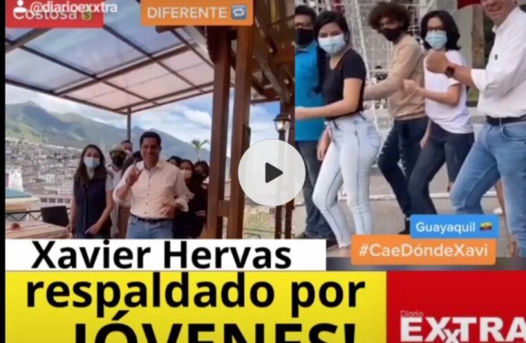 Tiktokeros respaldan candidatura de Xavier Hervas.