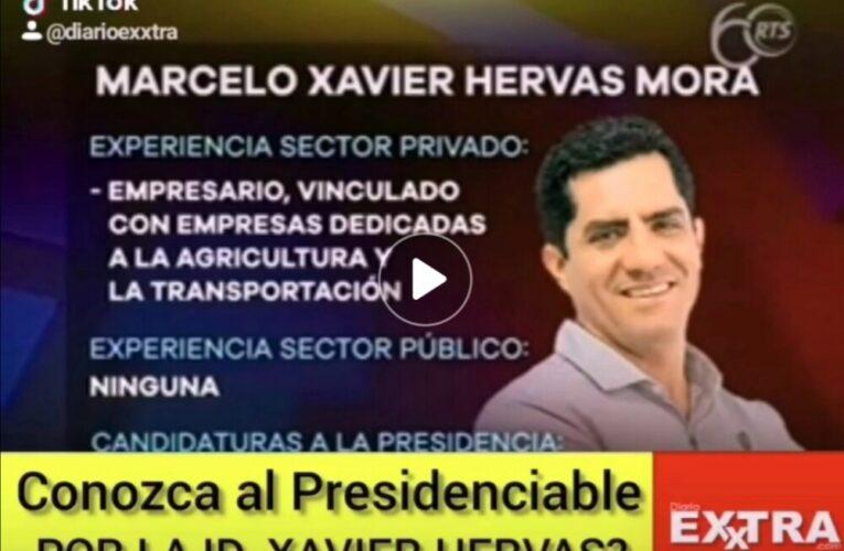 Quién es el candidato del monopatin, Xavier Hervas?