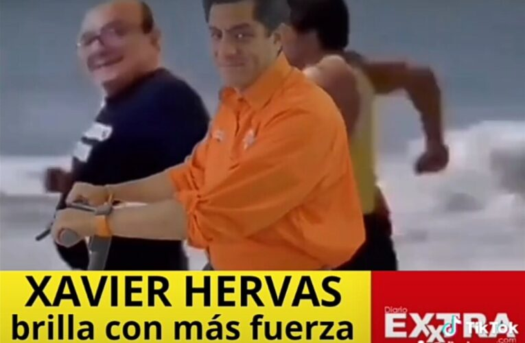 Xavier Hervas candidato a Presidente por la ID. continúa conquistando votantes.