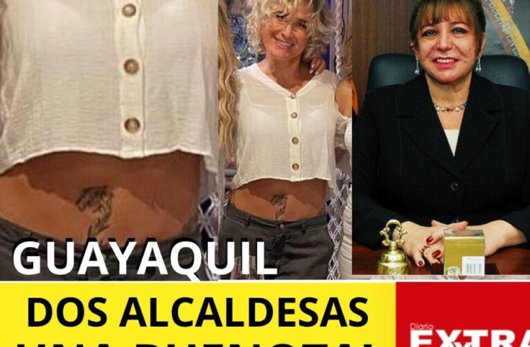 Cynthia Viteri y Elsa Bucaram dos alcaldesas que ha tenido Guayaquil.