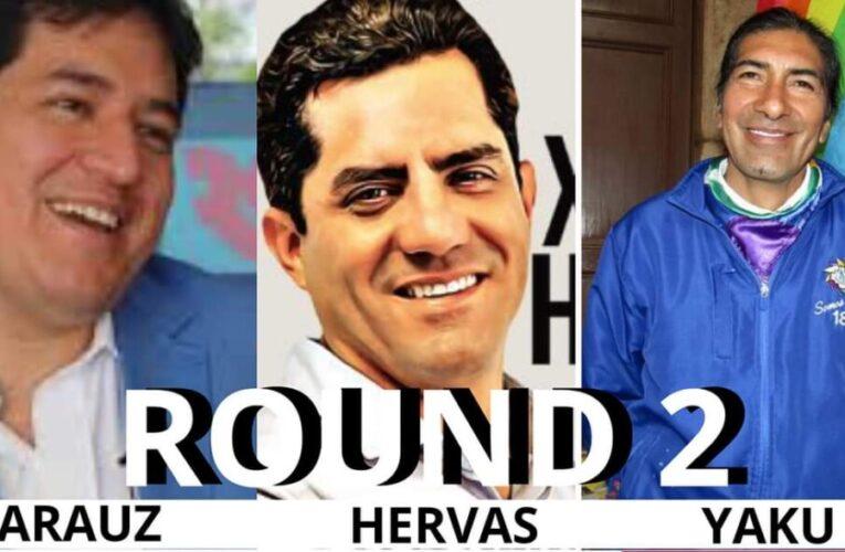 Xavier Hervas brilla como único empresario entre candidatos de Izquierda.