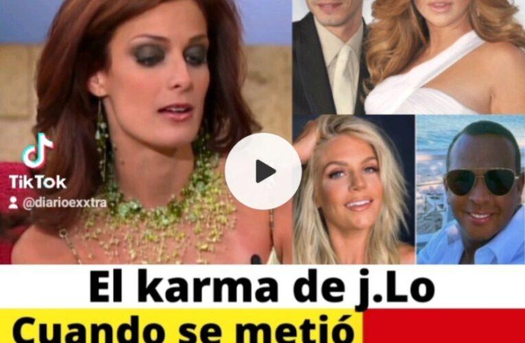 J.Lo paga el Karma por meterse  en el matrimonio de Marc Anthony, su prometido tuvo un affair con Madison Le Croy.