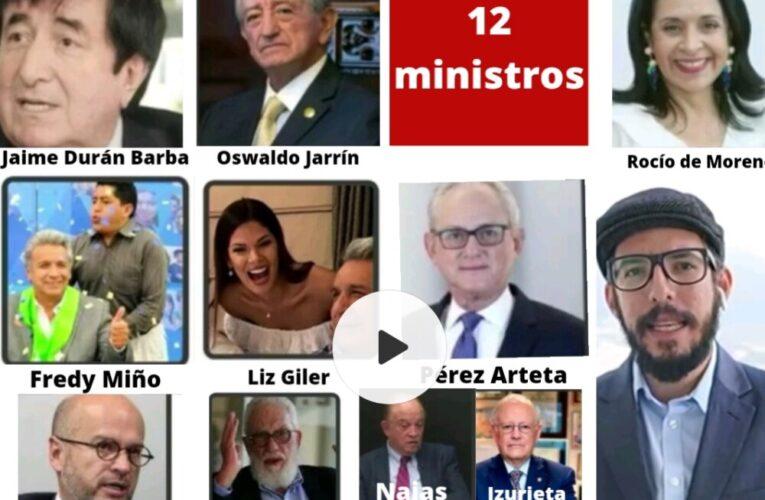 Amigüis del gobierno, doce ministros y más funcionarios entre los vacunados VIP!