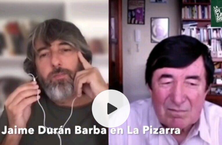 """""""Andrés Arauz es un buen proyecto, Guillermo Lasso, una incógnita"""" dijo Jaime Durán Barba, asesor del candidato de la lista 21."""
