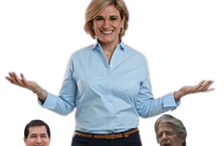 La pregunta del millón! Habría apoyado Cynthia Viteri a Andrés Arauz a través del troll center correista ?