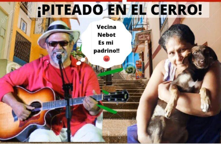 Héctor Napolitano y su vecina del Cerro Santa Ana, Piteados por terreno que el Municipio expropiaría para beneficiar al cantante.