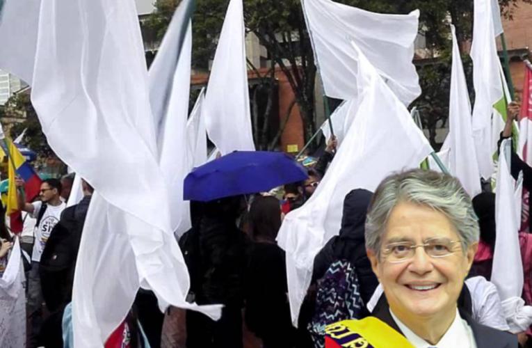 Se suman Plantones por la paz organizado por El Frente Nacional de Independientes. Se prevee 17 mil personas que marcharán a favor del Gobierno.